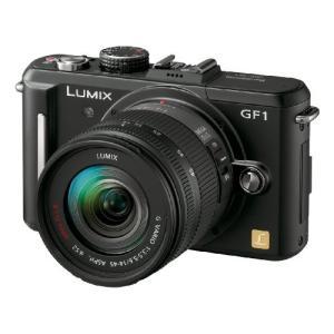 パナソニック ミラーレス一眼カメラ GF1 レンズキット(14-45mm/F3.5-5.6標準ズーム...