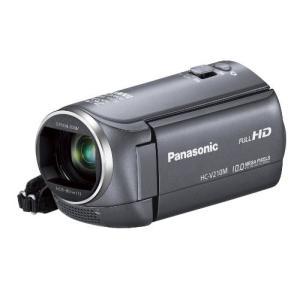 パナソニック デジタルハイビジョンビデオカメラ V210 内蔵メモリー8GB グレー HC-V210M-H 中古商品 zerotwo
