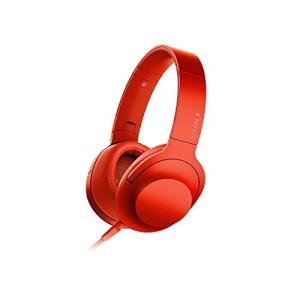 ソニー SONY ヘッドホン h.ear on MDR-100A : ハイレゾ対応 密閉型 折りたた...