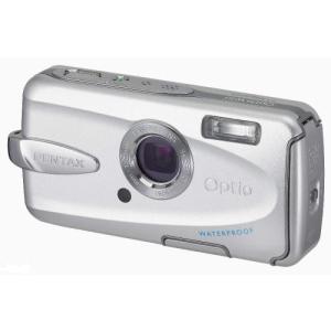 PENTAX 防水デジタルカメラ Optio (オプティオ) W30 シルバー OPTIOW30S 中古商品