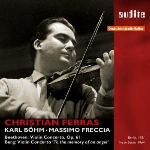 Beethoven: Violin Concerto / Berg: Violin Concerto 'To the memory of an angel' 中古商品