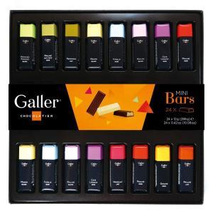 ガレー Galler チョコレート ミニバーギフトボックス 24本入 (1箱) 2020年限定パッケ...