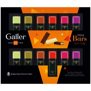 Galler (ガレー) ベルギー王室御用達 チョコレート ミニバー 12本入 2020年限定パッケ...