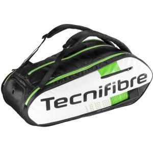 テニス、スカッシュ、バドミントン ラケットバッグ Squash Green 12R テクニファイバー TECNIFIBRE