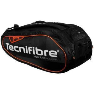 テニス、スカッシュ、バドミントン ラケットバッグ Absolute Orange 12R テクニファイバー TECNIFIBRE|zest-2009