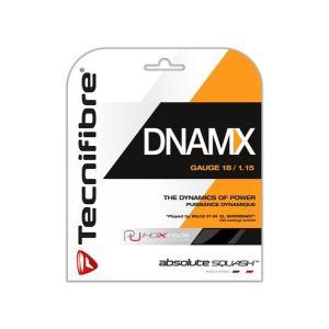 スカッシュストリング DNAMX  1.15mm ブラック Tecnifibre(テクニファイバー) zest-2009
