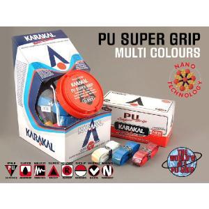 バドミントン スカッシュ テニスグリップ PU SUPER GRIP Multi KARAKAL カラカル|zest-2009