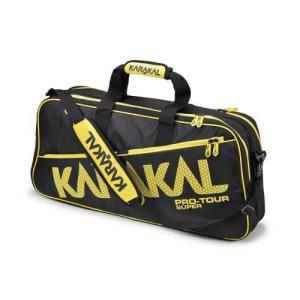 バドミントン スカッシュ テニス ラケットバッグ PRO TOUR SUPER  (ラケットバッグ) - KARAKAL(カラカル)|zest-2009