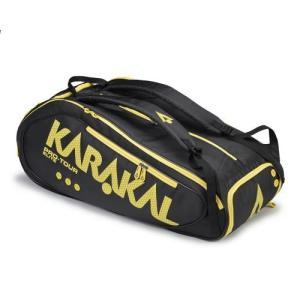 バドミントン スカッシュ テニス ラケットバッグ PRO TOUR ELITE (ラケットバッグ)- KARAKAL(カラカル)|zest-2009