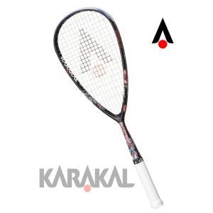 スカッシュラケット CRYSTAL 125  Karakal カラカル|zest-2009