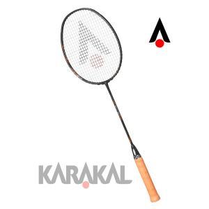 カラカル KARAKAL バドミントン ラケット 6U  超軽量 BN 60 オレンジ  badminton racket|zest-2009