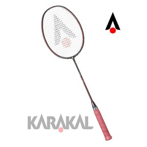 カラカル KARAKAL バドミントン ラケット TATTOO DEVIL RED badminton racket|zest-2009