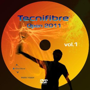 スカッシュ DVD Tecnifibre Open 2011 vol.1 & vol.2 2枚組|zest-2009