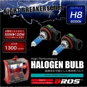 ハロゲンバルブ H8 55W 6000K 12V 120W/1300lm相当 車検対応 2個 ヘッドライト フォグランプ パーツ ホワイト 白 車 バイク 条件付 送料無料 _25227