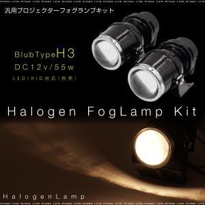 H3 55W フォグランプ ヘッドライト 汎用 プロジェクターランプ 2個 加工 埋め込み ステー 後付け HID/LED 交換可能 条件付 送料無料 あす つく _28029|zest-group
