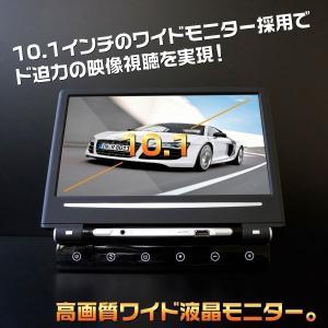 ヘッドレストモニター 10.1インチ )HDMI スマートフォン対応 WXGA(1280x800) タッチボタン操作 180度回転式 LEDバックライト 折りたたみ可能_43099|zest-group