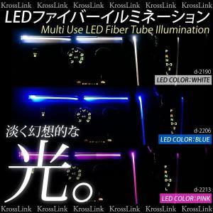 LED マジックファイバー イルミネーション ライト 3mm/100cm  ホワイト/ブルー/ピンク  LEDテープライトよりも優しい 白/青/桃 条件付/送料無料@a372|zest-group