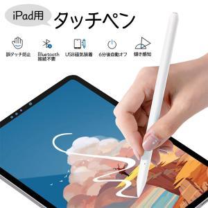 タッチペン iPadペン スタイラスペン 傾き感知 誤タッチ防止 磁気吸着 自動オフ機能 高感度USB磁気充電式 2018年以降iPad対応|zestnationjp