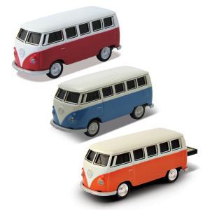 「USBフラッシュメモリー」 1962 Volkswagen Classical Bus : VW クラシカルバス 全3色「オートドライブ」|zeus-japan