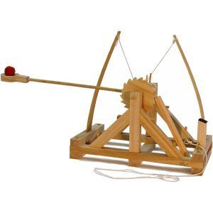 レオナルド・ダ・ヴィンチの木製化学模型 カタパルト 組み立てキット zeus-japan