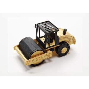 CARS CRAFT:働くクルマのペーパークラフト ROAD ROLLER [ロードローラー]:ネコポスOK zeus-japan