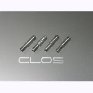 アルファロメオ 156 V6 156 TS 「CLOS」クロス ドアロックピン(4P) アルミ ALFA ROMEO|zeus-japan