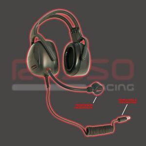 RossoRacing ヘッドセット PELTOR互換 HS-10-RAC|zeus-japan