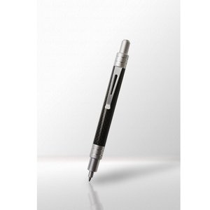 カーボンボールペン ノック式 アルミカラー 「LQIMIA」ルキミア 「宅配便コンパクトOK」|zeus-japan