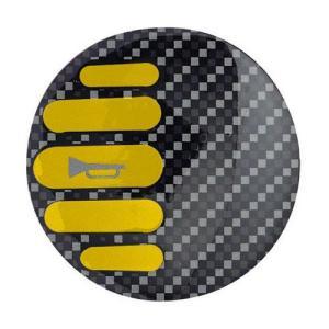 スペアホーンバッジ イエロー 「SPARCO」スパルコ 「宅配便コンパクト・ネコポスOK」|zeus-japan