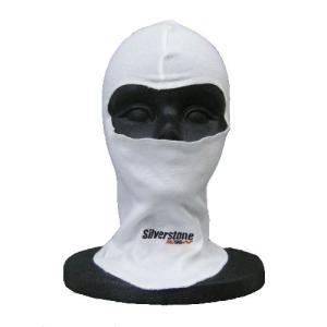 フェイスマスク / バラクラバ 外縫い コットン:シルバーストンレーシング 「Silverstone RACING」|zeus-japan