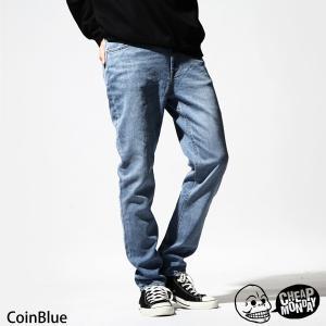 ジーンズ メンズ デニムパンツ ボトムス テーパード ウォッシュ加工 チープマンデー CHEAP MONDAY ファッション (0466550) zip