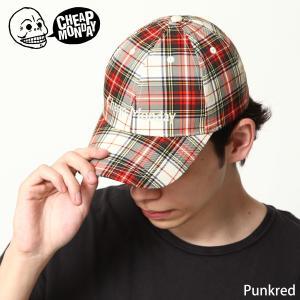 キャップ メンズ ベースボールキャップ 帽子 チェック 小物 CHEAP MONDAY チープマンデー ファッション (0695931)|zip
