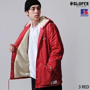 ジャケット メンズ ボアジャケット ブルゾン フードジャケット ロング丈 ロゴ 無地 ボア ファッション (471305)|zip