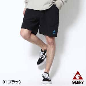 ナイロンショーツ メンズ ハーフパンツ ナイロンパンツ ショートパンツ ガーデニングパンツ ショーツ 短パン 無地 GERRY ジェリー ファッション (7554)|zip