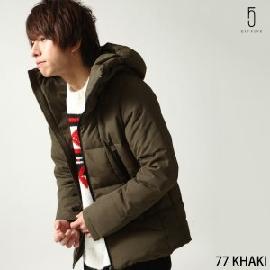 ダウンジャケット メンズ ダウンコート リアルダウン アウター ジャケット ブルゾン 中綿 ファッション (76731-908-15)|zip