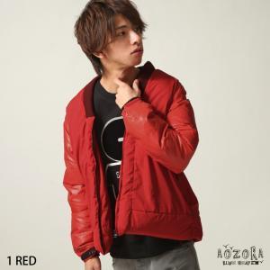 ダウンジャケット メンズ ダウン ジャケット ブルゾン 無地 フェザー 半纏 ラグランスリーブ ファッション (770207)|zip