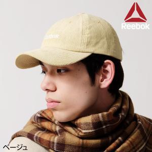 キャップ メンズ コーデュロイ ロゴ 刺繍 帽子 野球帽 ベースボールキャップ リーボック ファッション (ac2010)|zip