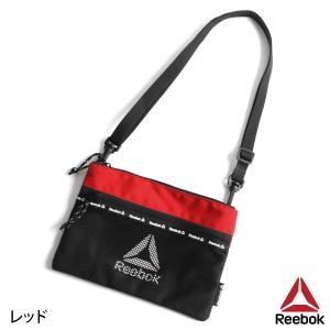 ショルダーバッグ メンズ メッシュバッグ サコッシュ バッグ 肩掛け バック ポーチ 鞄 かばん Reebok リーボック スポーティ ファッション (arb1032)|zip