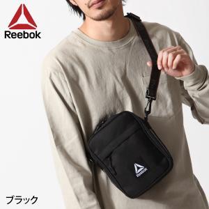 ショルダーバッグ メンズ バッグ 鞄 フェス ロゴテープ メッセンジャーバッグ Reebok リーボック ファッション (arb1043)|zip