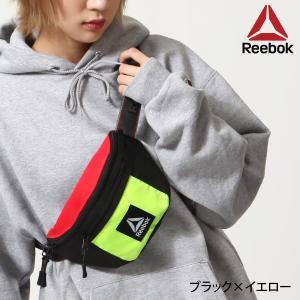 ヒップバッグ・ウエストバッグ メンズ ヒップバッグ ボディバッグ バッグ 鞄 フェス ロゴテープ Reebok リーボック ファッション (arb1045)|zip