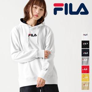 パーカー メンズ  プルオーバーパーカー 長袖 ロゴ ロゴ刺繍 ワンポイント 裏毛 FILA フィラ ファッション (fh7474)|zip