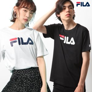 Tシャツ メンズ カットソー 半袖 クルーネック ロゴ ロゴプリント プリント 半袖Tシャツ FILA フィラ ファッション ポイント消化 (fh7492)|zip