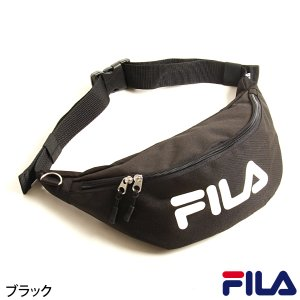 バッグ メンズ ボディバッグ ウエストバッグ 鞄 ロゴ FILA フィラ ポーチ スポーティ ファッション (fm2065)|zip