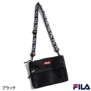 ショルダーバッグ メンズ メッシュバッグ サコッシュ バッグ 肩掛け バック ポーチ 鞄 かばん FILA フィラ スポーティ ファッション (fm2097)|zip