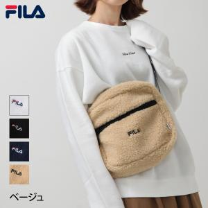 ショルダーバッグ メンズ バッグ 鞄 肩掛け ボア もこもこ ふわふわ ロゴ 刺繍 FILA フィラ ファッション (fm2224)|zip