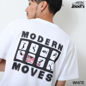 Tシャツ メンズ カットソー プリントTシャツ 半袖 Tee プリント バックプリント クルーネック JIMMY'Z ジミーズ ファッション (jm-1901-011)|zip