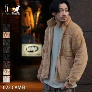 ジャケット メンズ ボアジャケット フリースジャケット KANGOL カンゴール トラックジャケット アウター ブルゾン 無地 ファッション (kgsa-zi1835)|zip