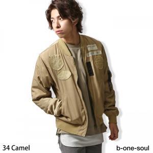 ミリタリージャケット メンズ服 MA-1 フライトジャケット 長袖 アウター ファッション (s-6770028)