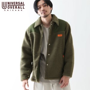 フリースジャケット メンズ ボアジャケット ジャケット ブルゾン アウター もこもこ ボア 無地 ファッション (u9333421) zip