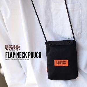 ポーチ メンズ バッグ 鞄 ストラップ 小物入れ サコッシュ UNIVERSAL OVERAL フェス ユニバーサルオーバーオール ファッション ポイント消化 (uvo-021)|zip